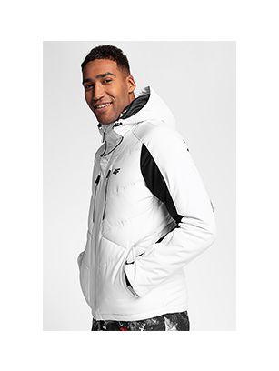 Men's ski jacket KUMN256 - white