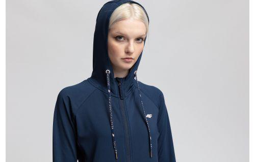 Women's active hoodie BLD403 - dark navy