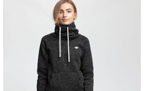 Women's fleece PLD004 - black melange