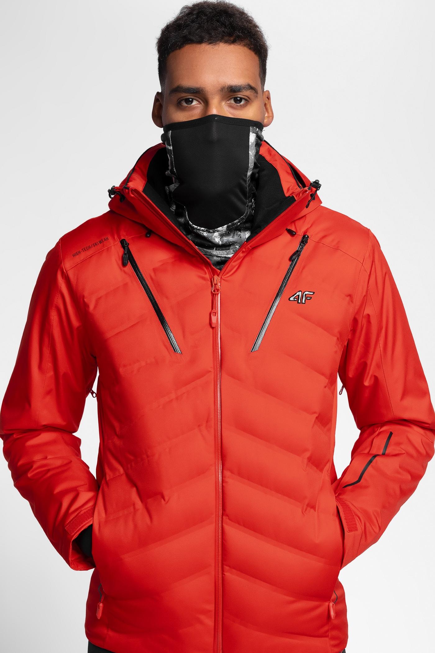 87201e82d Men's ski jacket HQ Performance KUMN150 - red
